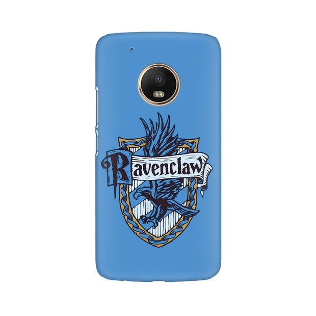 Moto G5 Ravenclaw House Crest Harry Potter Phone Cover & Case