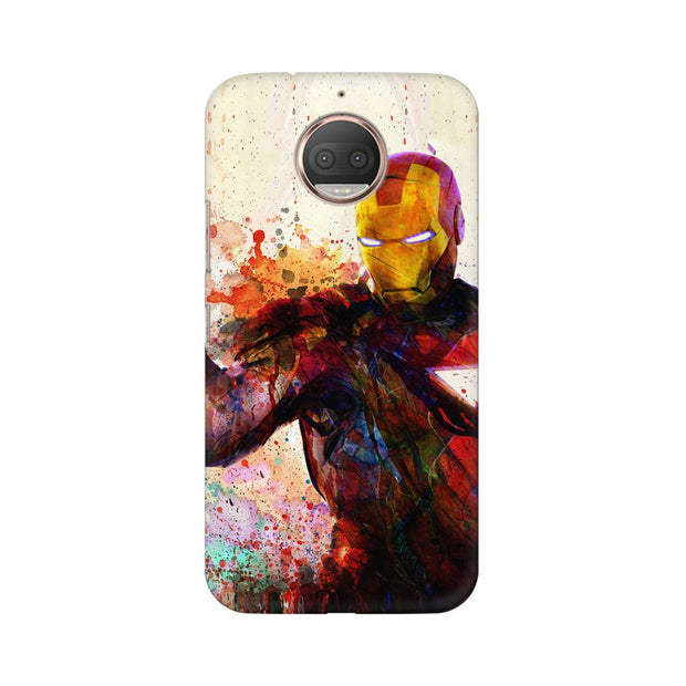 Moto G5s Iron Man Phone Cover & Case