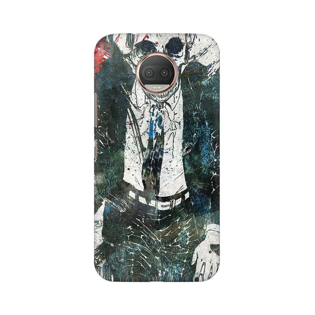 Moto G5s Dead Man Walking Phone Cover & Case