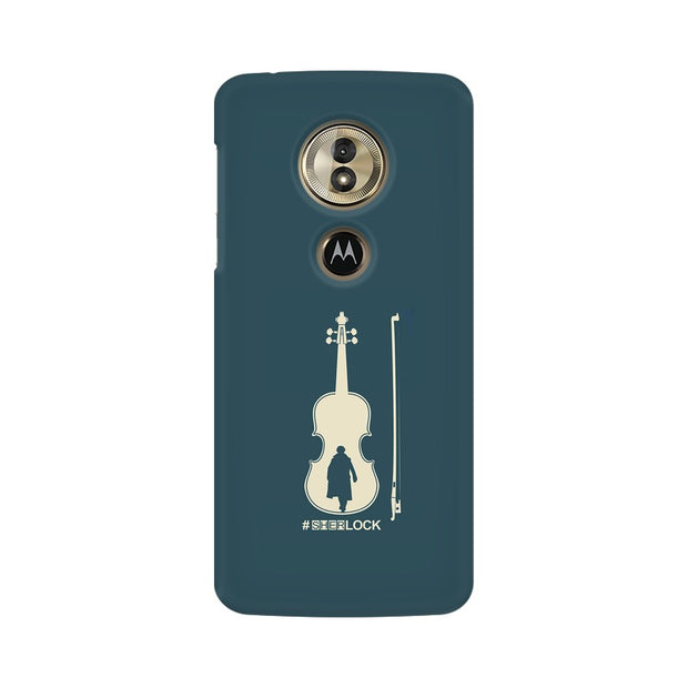 Moto G6 Play Sherlock Violin Fan Art Phone Cover & Case