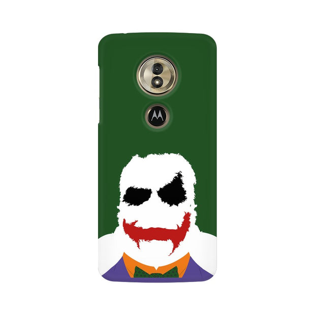 Moto G6 Play The Joker Outline Phone Cover & Case
