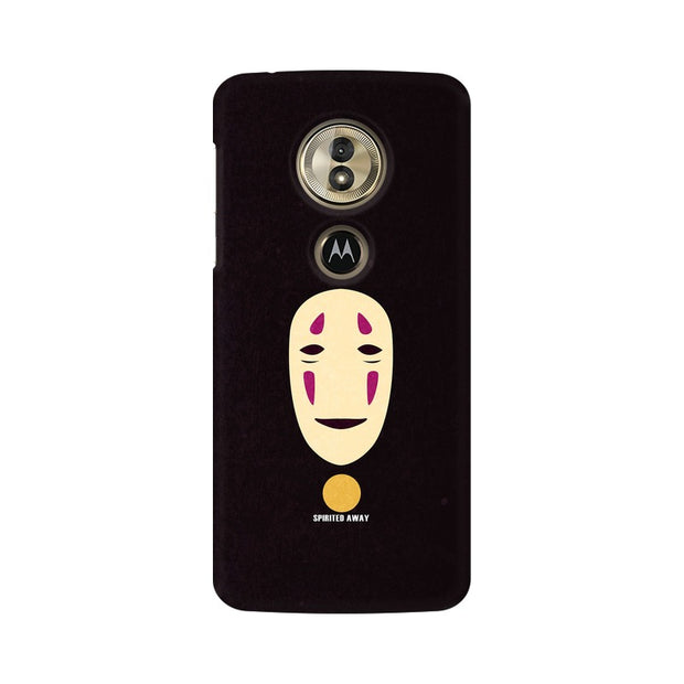 Moto G6 Play Spirited Away Minimal Anime Phone Cover & Case
