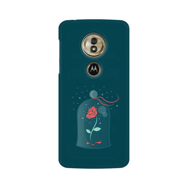 Moto G6 Play Rose of Love Beauty & The Beast Phone Cover & Case
