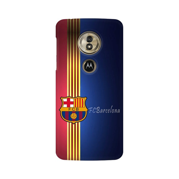 Moto G6 Play The Barca Crest Phone Cover & Case