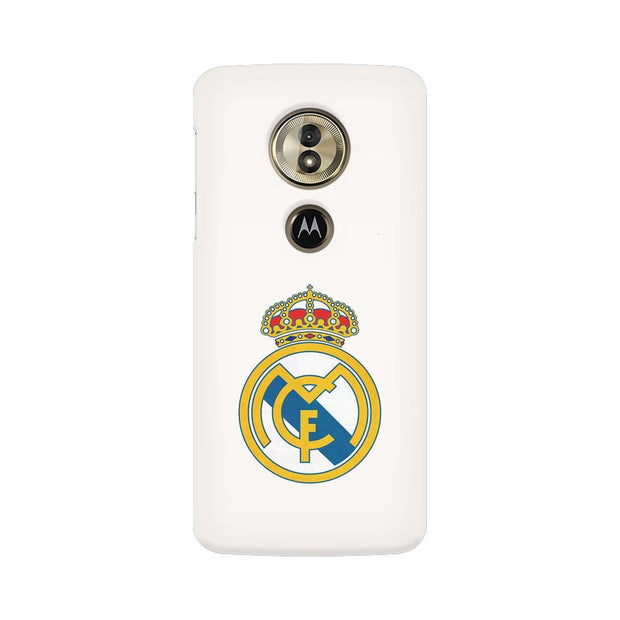 Moto G6 Play The Real Madrid Crest Phone Cover & Case