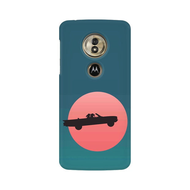 Moto G6 Play Thelma & Louise Movie Minimal Phone Cover & Case