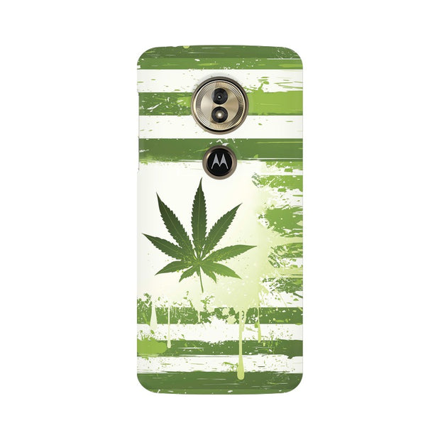 Moto G6 Play Weed Flag  Phone Cover & Case