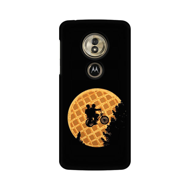 Moto G6 Play Stranger Things Pancake Minimal Phone Cover & Case