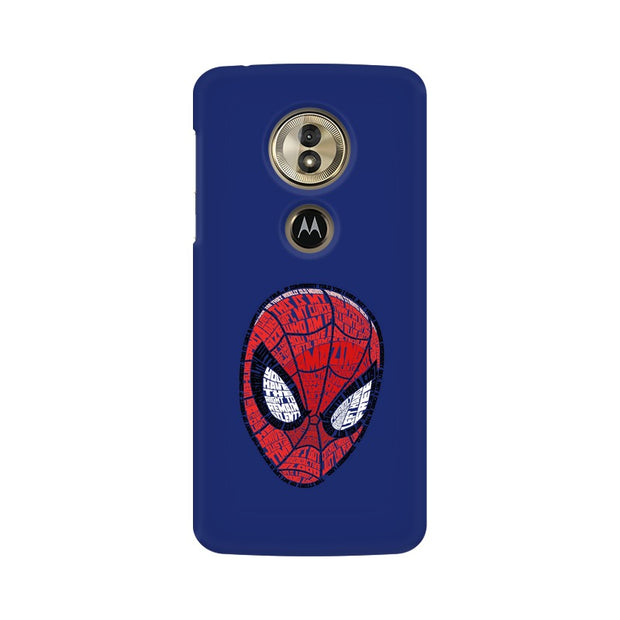 Moto G6 Play Spider Man Graphic Fan Art Phone Cover & Case