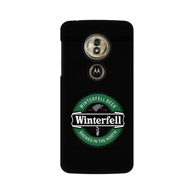 Moto G6 Play Winterfell Game Of Thrones Phone Cover & Case
