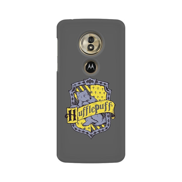 Moto G6 Play Hufflepuff House Crest Harry Potter Phone Cover & Case