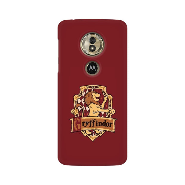Moto G6 Play Gryffindor House Crest Harry Potter Phone Cover & Case