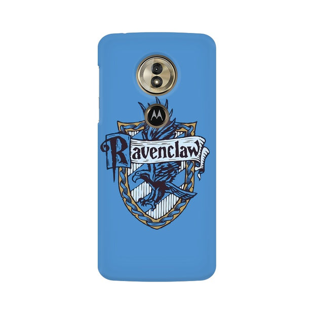Moto G6 Play Ravenclaw House Crest Harry Potter Phone Cover & Case