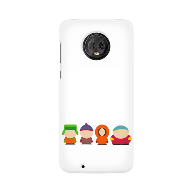 Moto G6 South Park Minimal Phone Cover & Case
