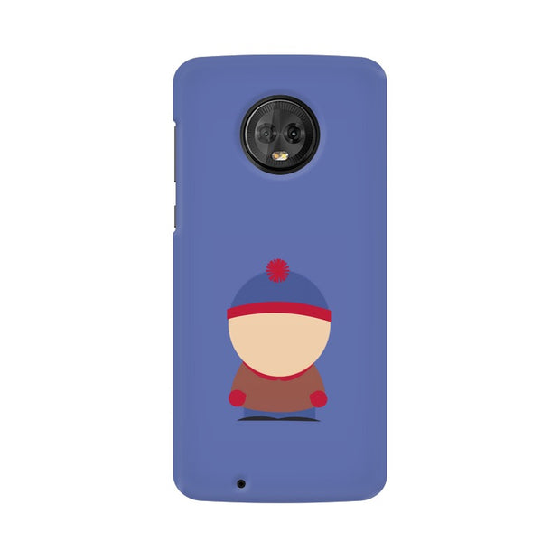 Moto G6 Stan Marsh Minimal South Park Phone Cover & Case