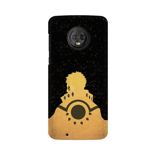 Moto G6 Naruto Outline Minimal Fan Art Phone Cover & Case