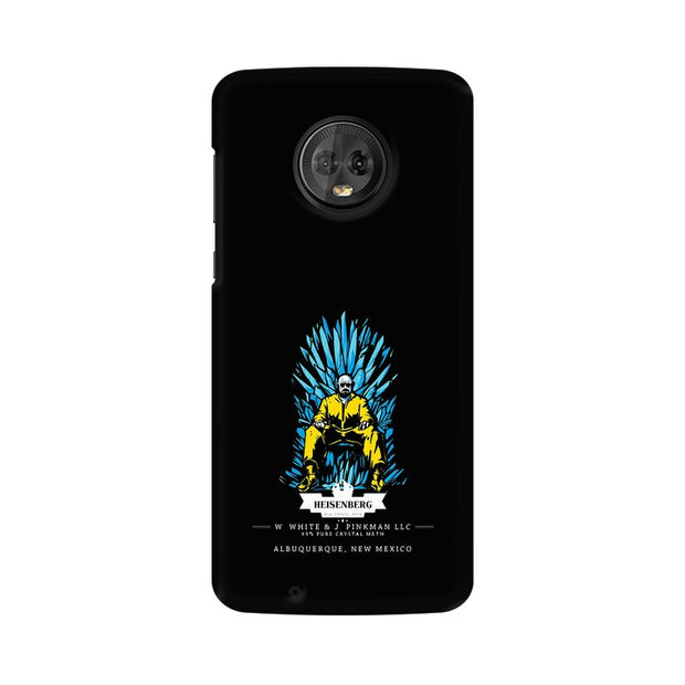 Moto G6 Walter White on Iron Throne Phone Cover & Case