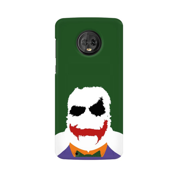 Moto G6 The Joker Outline Phone Cover & Case