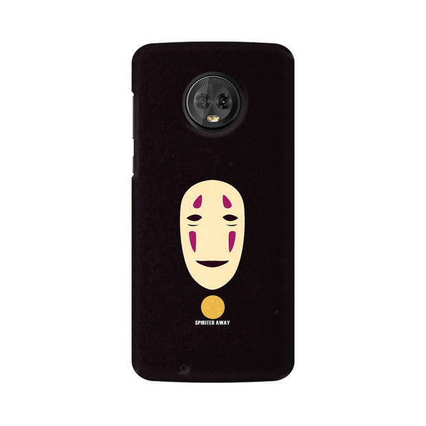 Moto G6 Spirited Away Minimal Anime Phone Cover & Case