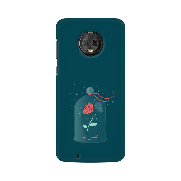 Moto G6 Rose of Love Beauty & The Beast Phone Cover & Case