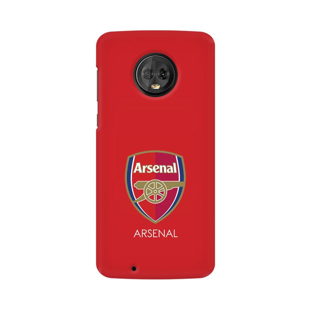 Moto G6 The Arsenal Crest Phone Cover & Case