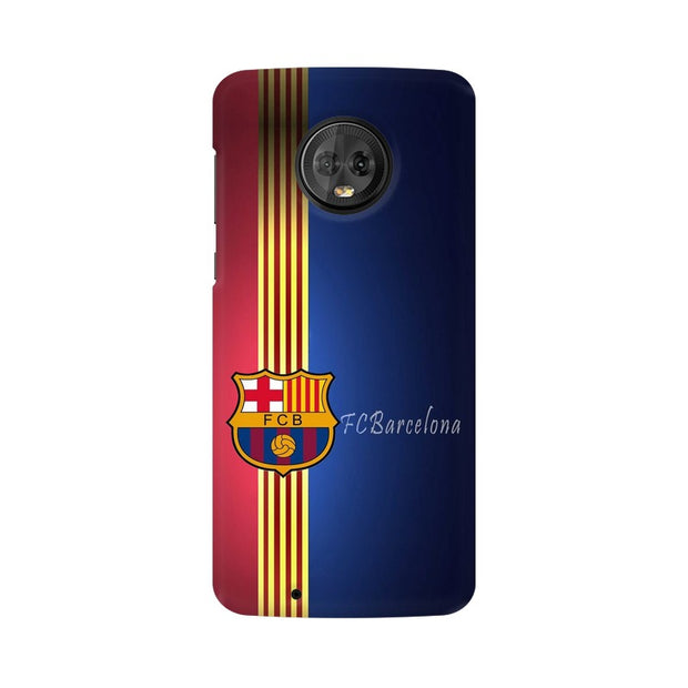 Moto G6 The Barca Crest Phone Cover & Case