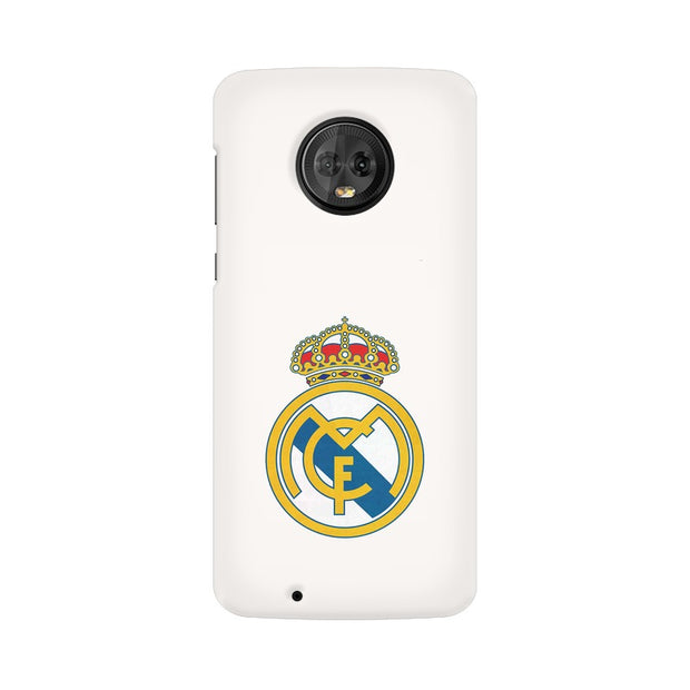 Moto G6 The Real Madrid Crest Phone Cover & Case
