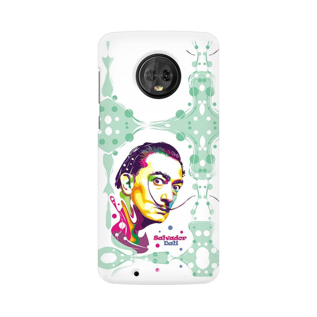 Moto G6 Salvador Dali Fan Art Phone Cover & Case