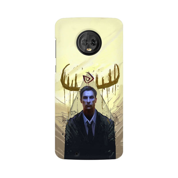 Moto G6 True Detective Rustin Fan Art Phone Cover & Case