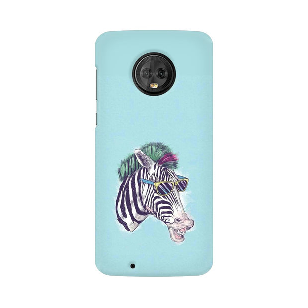 Moto G6 The Zebra Style Cool Phone Cover & Case