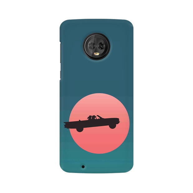 Moto G6 Thelma & Louise Movie Minimal Phone Cover & Case