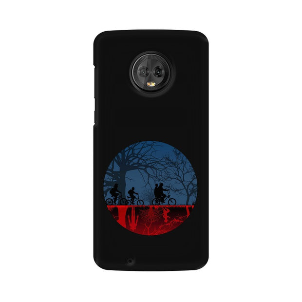 Moto G6 Stranger Things Fan Art Phone Cover & Case