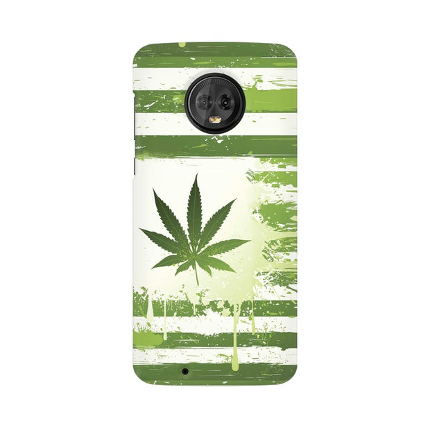 Moto G6 Weed Flag  Phone Cover & Case