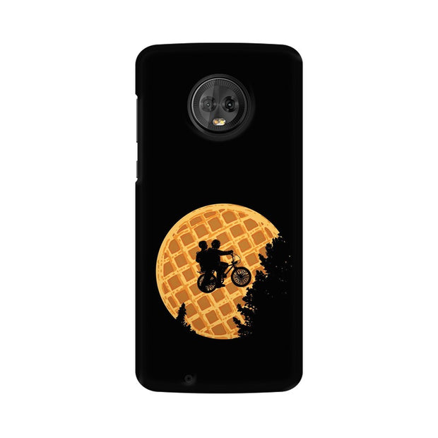 Moto G6 Stranger Things Pancake Minimal Phone Cover & Case