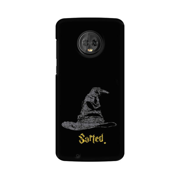 Moto G6 Sorting Hat Harry Potter Phone Cover & Case