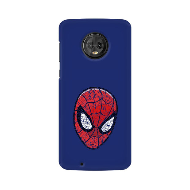 Moto G6 Spider Man Graphic Fan Art Phone Cover & Case