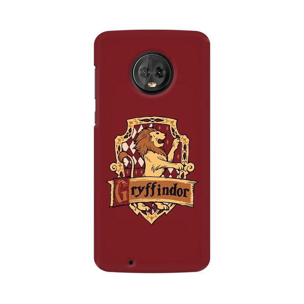 Moto G6 Gryffindor House Crest Harry Potter Phone Cover & Case