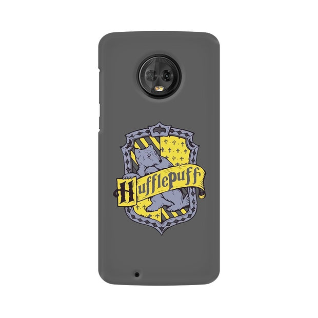 Moto G6 Hufflepuff House Crest Harry Potter Phone Cover & Case