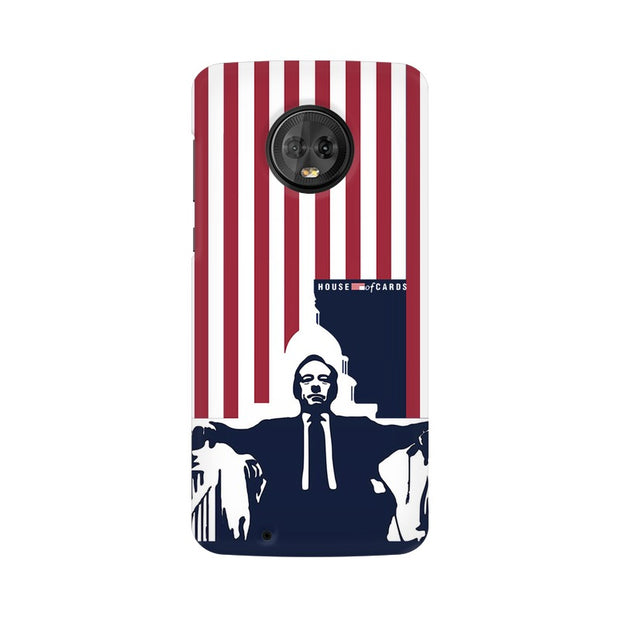 Moto G6 House Of Cards Underwood On Chair Phone Cover & Case