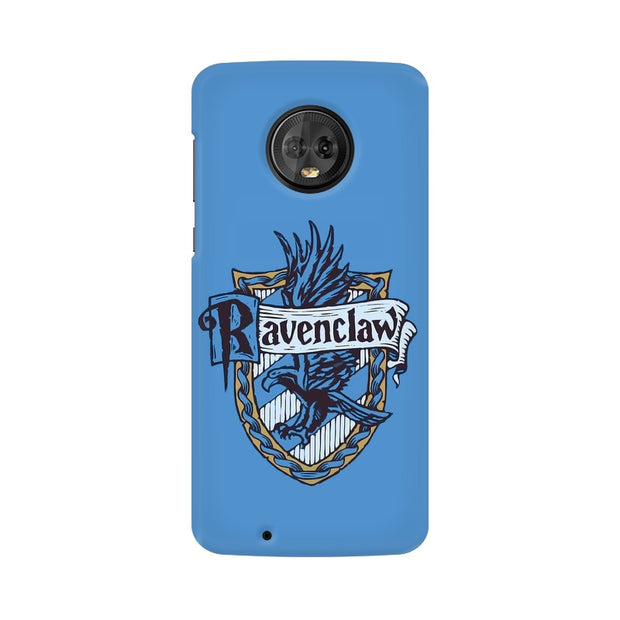 Moto G6 Ravenclaw House Crest Harry Potter Phone Cover & Case