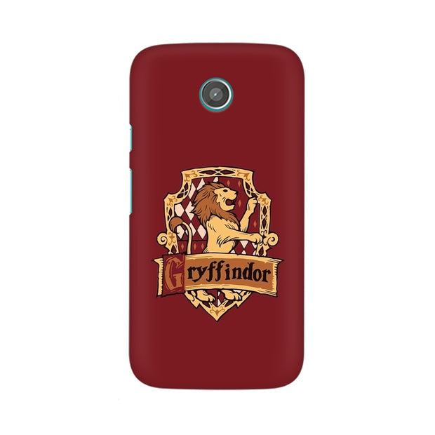 Moto G Gryffindor House Crest Harry Potter Phone Cover & Case