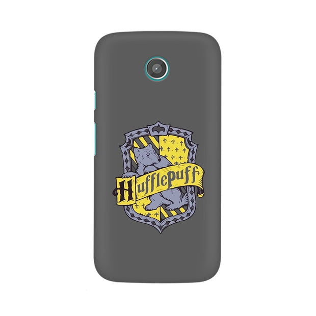 Moto G Hufflepuff House Crest Harry Potter Phone Cover & Case