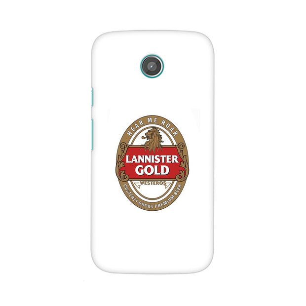 Moto G Lannister Gold Game Of Thrones Cool Phone Cover & Case