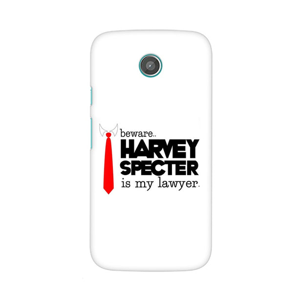 Moto G Harvey Spectre Is My Lawyer Suits Phone Cover & Case