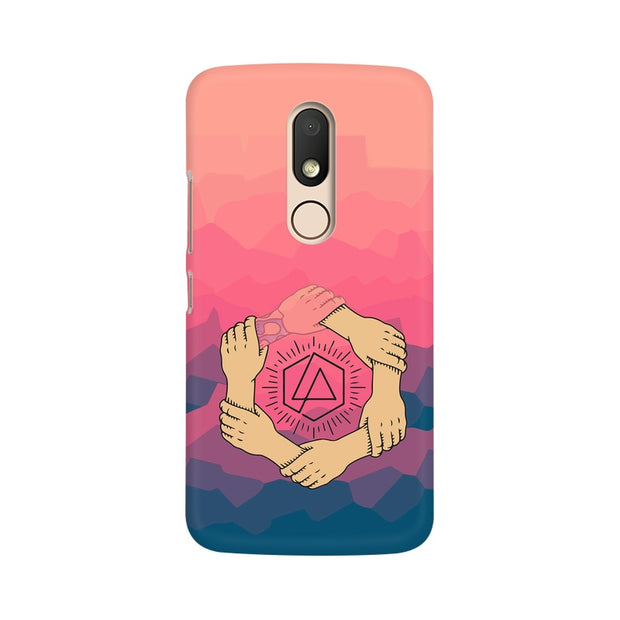Moto M Linkin Park Logo Chester Tribute Phone Cover & Case