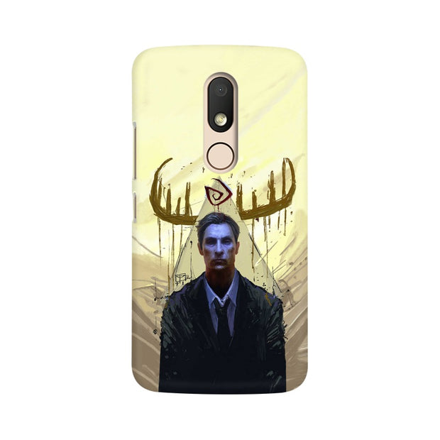 Moto M True Detective Rustin Fan Art Phone Cover & Case