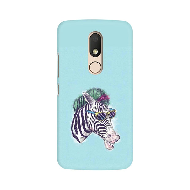Moto M The Zebra Style Cool Phone Cover & Case