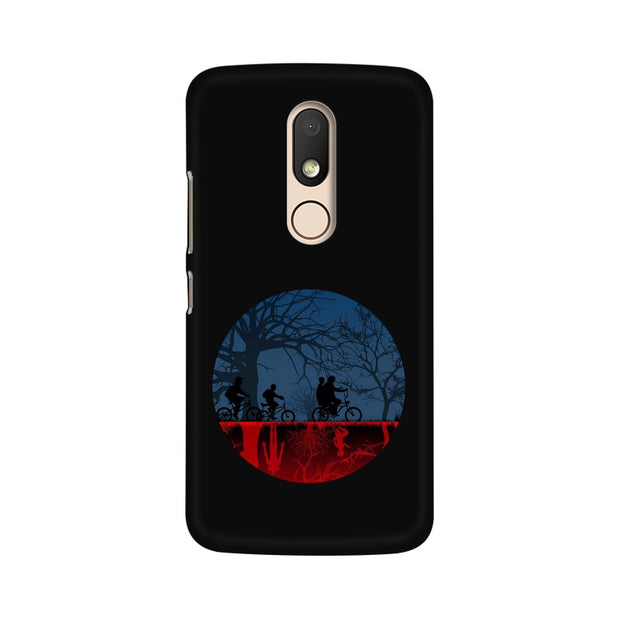 Moto M Stranger Things Fan Art Phone Cover & Case