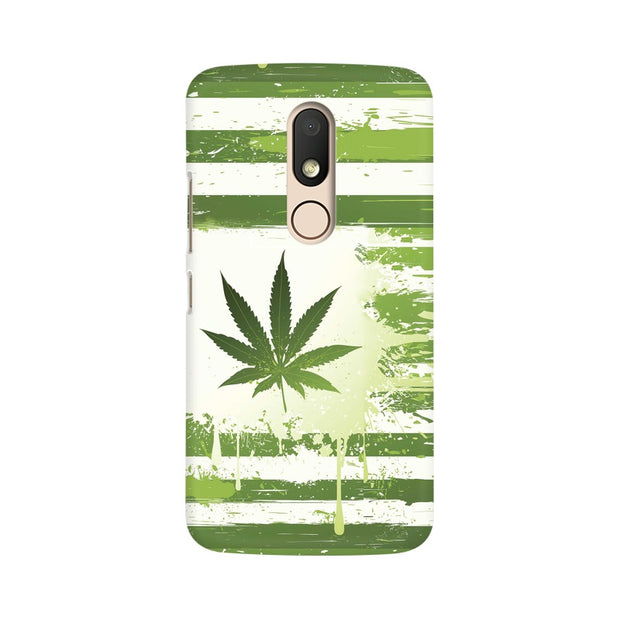 Moto M Weed Flag  Phone Cover & Case