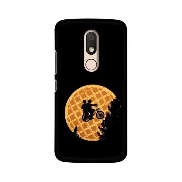 Moto M Stranger Things Pancake Minimal Phone Cover & Case